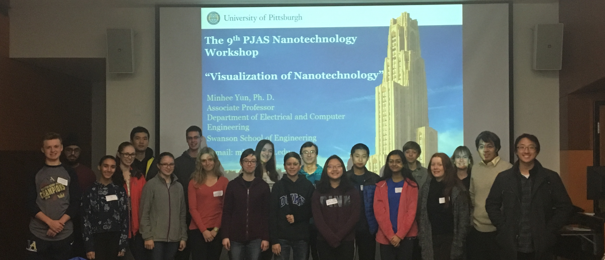 Attendees of 2018 PJAS Nanotechnology Workshop